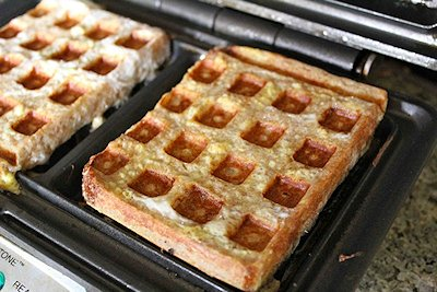 Waffle Iron French Toast @ Cooking With My Kids