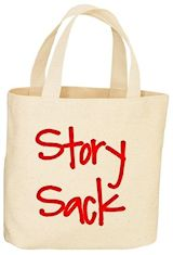 canvas tote bag story sack
