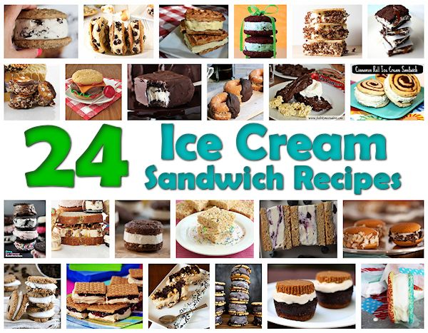 24 Ice Cream Sandwich Recipes