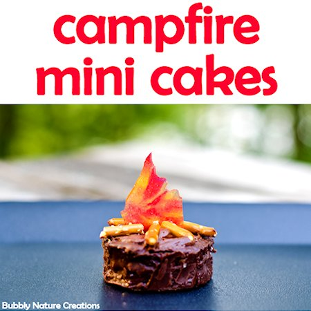 How to Make Campfire Mini Cakes