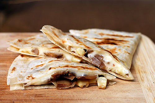How to Make Campfire Quesadillas