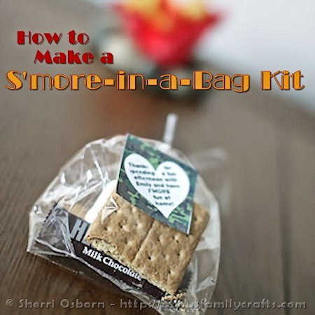 How to Make a S'more Kit