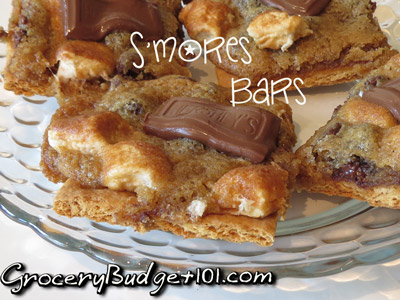 How to Make S'Mores Cookie Bars