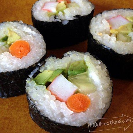 Sushi Rolls Simple