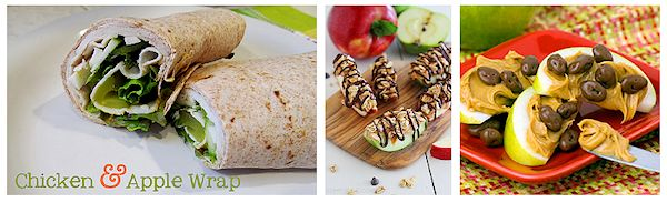 Apple Snack Wrap Recipe