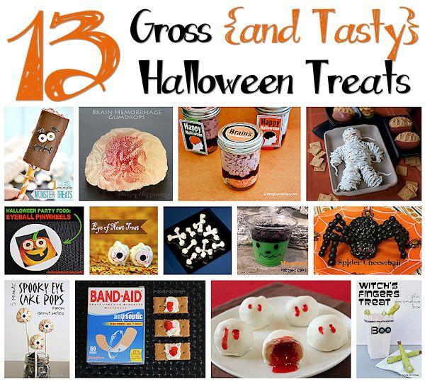 13 Gross Halloween Treats to Make
