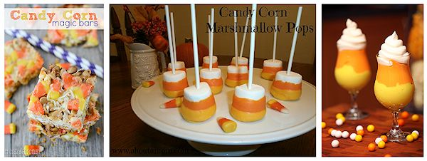 More Candy Corn Recipes