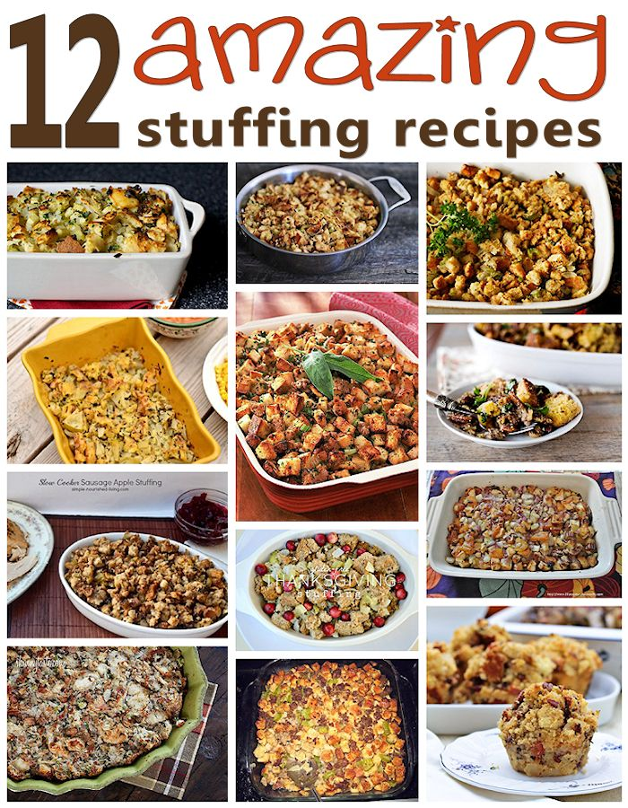 12 Stuffing Recipes I Want to Try