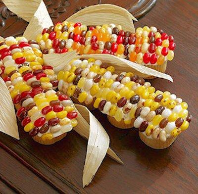 Indian Corn Cupcakes