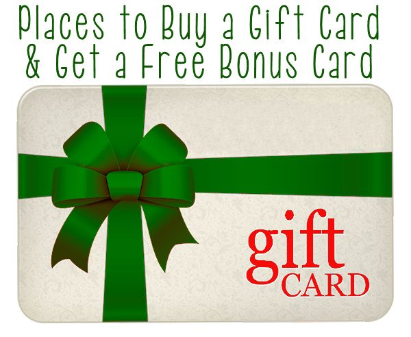 How to Get Free Bonus Gift Cards