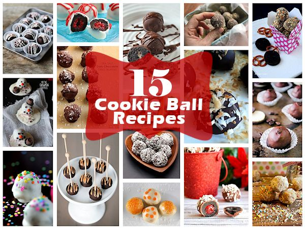 15 Cookie Ball Recipes