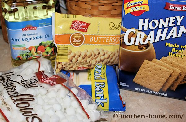 butterscotch s'mores bark ingredients