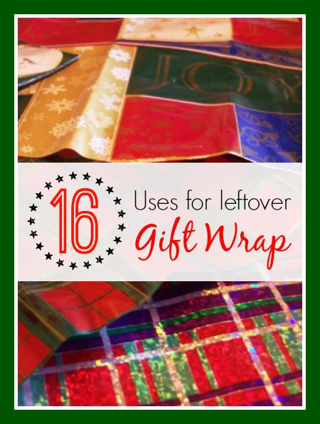 16 Uses for Leftover Gift Wrap