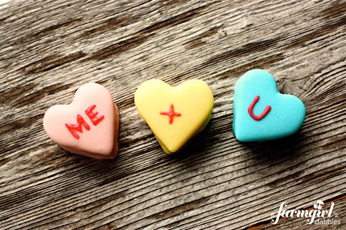 Homemade Marshmallow Conversation Hearts Recipes