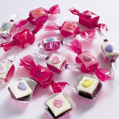 Conversation Heart Fudge Recipe
