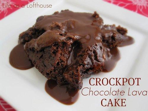 Crockpot Chocolate Lava Cake Reecipe
