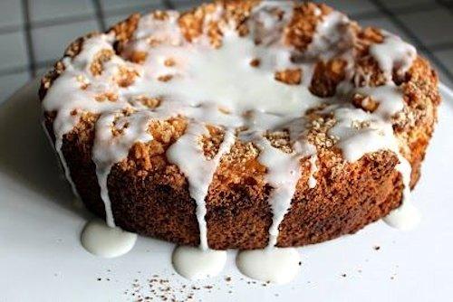Glazed Cinnamon Coffee Cake Recipe