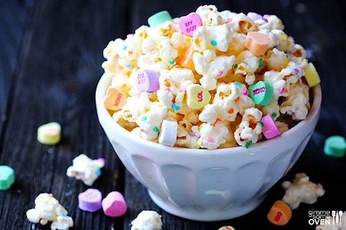 Valentine's Popcorn Recipe