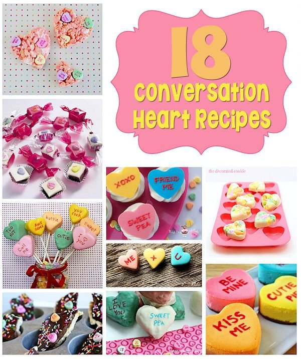 18 Conversation Heart Recipes