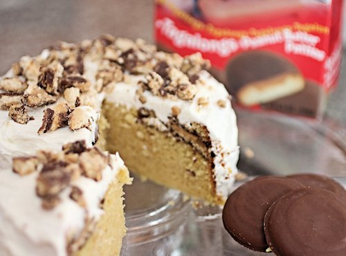Crock Pot Tagalongs Mini Cake Recipe