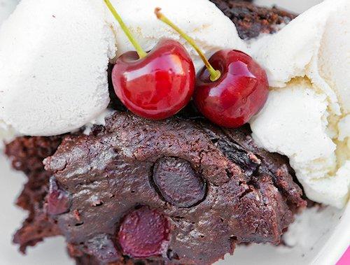 Chocolate Cherry Crockpot Cake Recipe