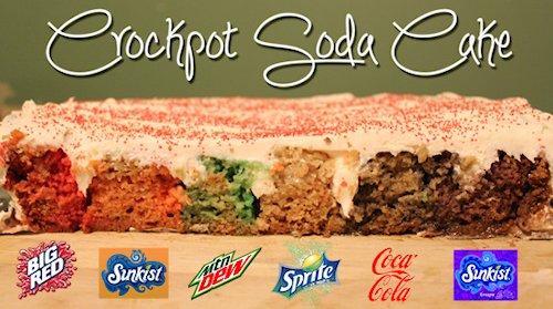Crockpot Soda Cake Recipe