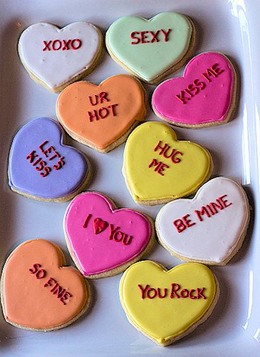 Conversation Heart Sugar Cookies Recipes