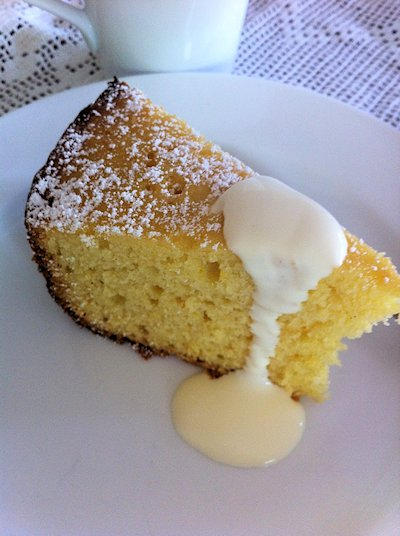 Slow Cooker Orange Butter Cake Recipe