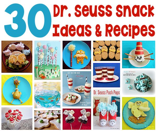 30 Dr. Seuss Snack Ideas and Recipes