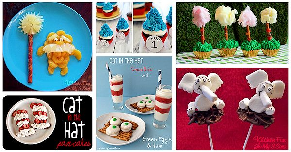 Dr. Seuss Snack Ideas 2