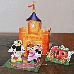 Minnie-rella castle