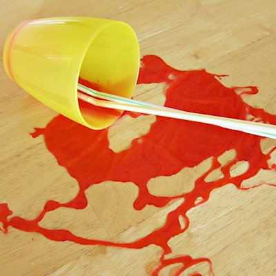 Fake Juice Spill Prank