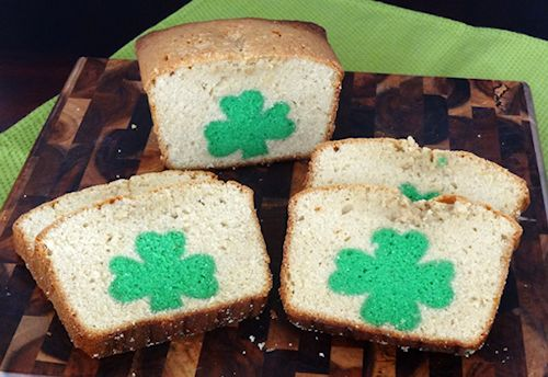St Patricks Day Peek A Boo Pound Cake
