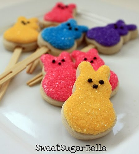Peep-Shaped Cookies