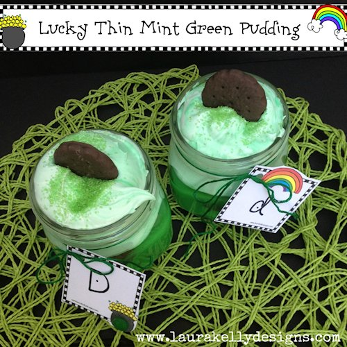 Lucky Thin Mint Green Pudding