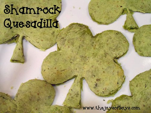 Shamrock Quesadillas