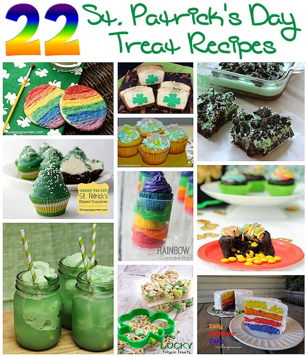 22 St. Patrick's Day Treat Recipes