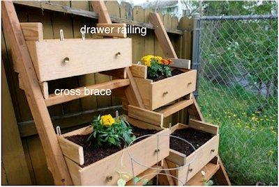 Dresser Drawer Garden