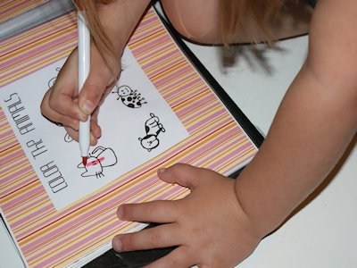 dry erase activity book