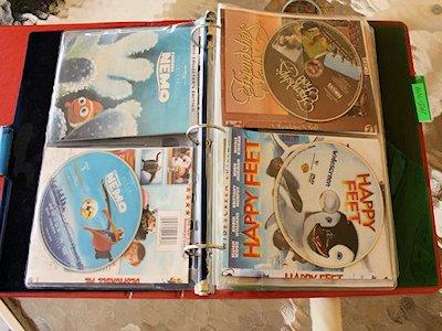 organize DVDs
