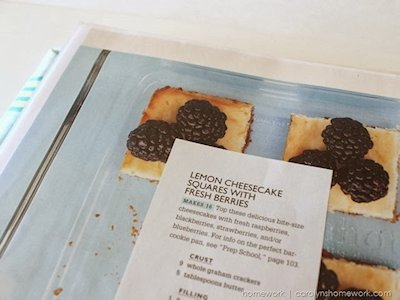 Make your own recipe book