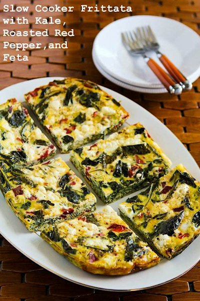 Slow Cooker Frittata with Kale