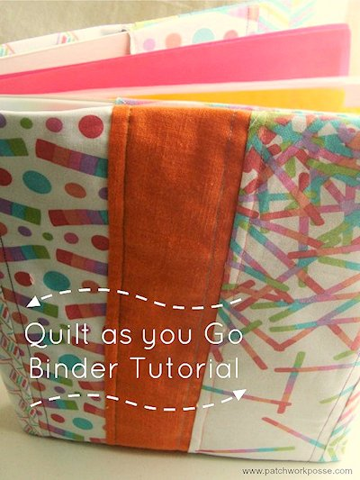 quilted binder