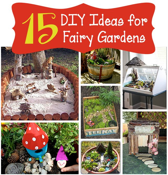 15 DIY Fairy Garden Ideas Mothers Home