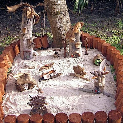 Ivonne and Natalie's Fairy Garden