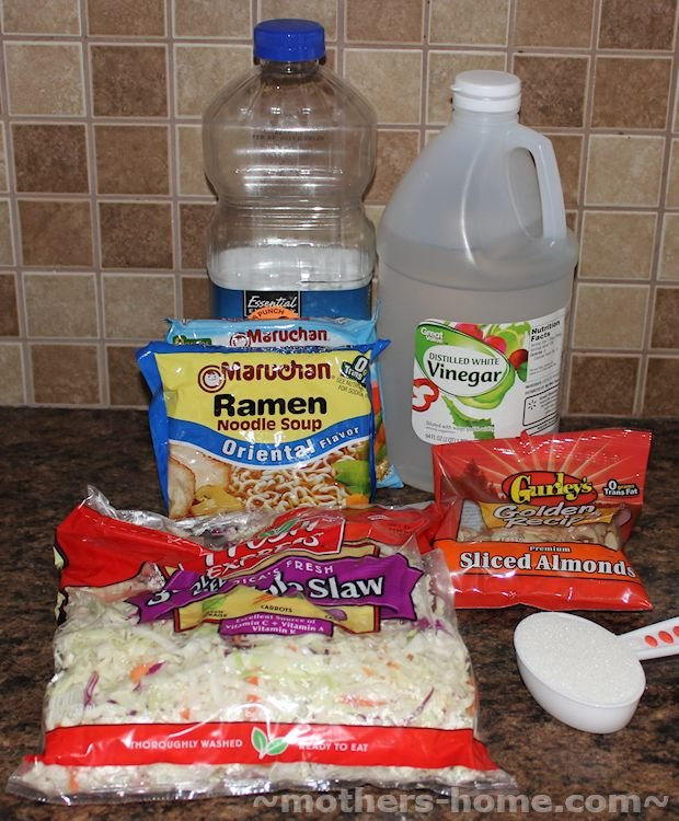 Chinese Cole Slaw Ingredients