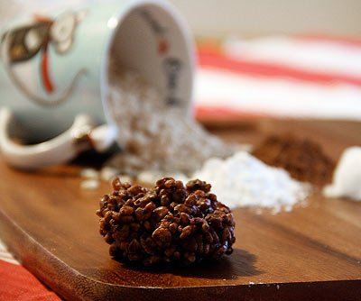 Coconut Cocoa Rice Krispie Treats Recipe