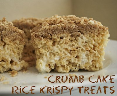 Crumb Cake Rice Krispies