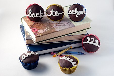 Back to School Hostess Cupcakes