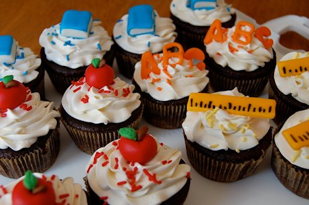 Back-to-School Cupcakes